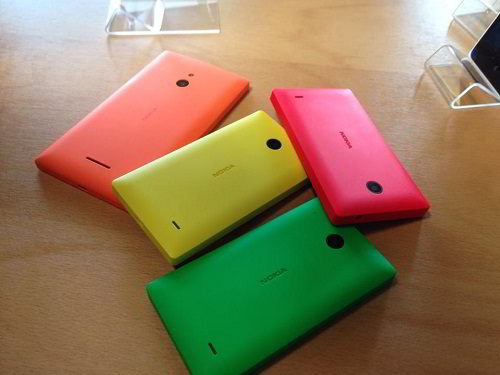 nokia x colored