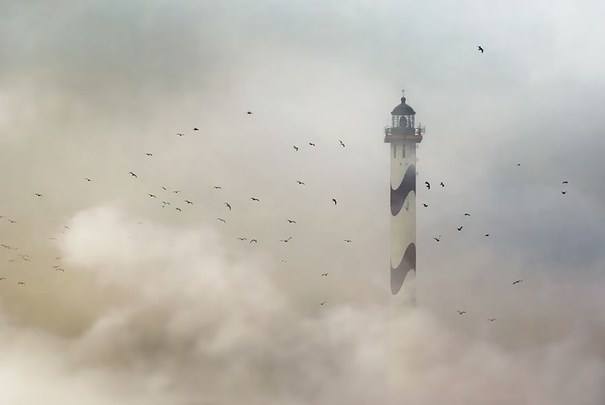 The Lange Nelle Lighthouse, Ostend, Belgium