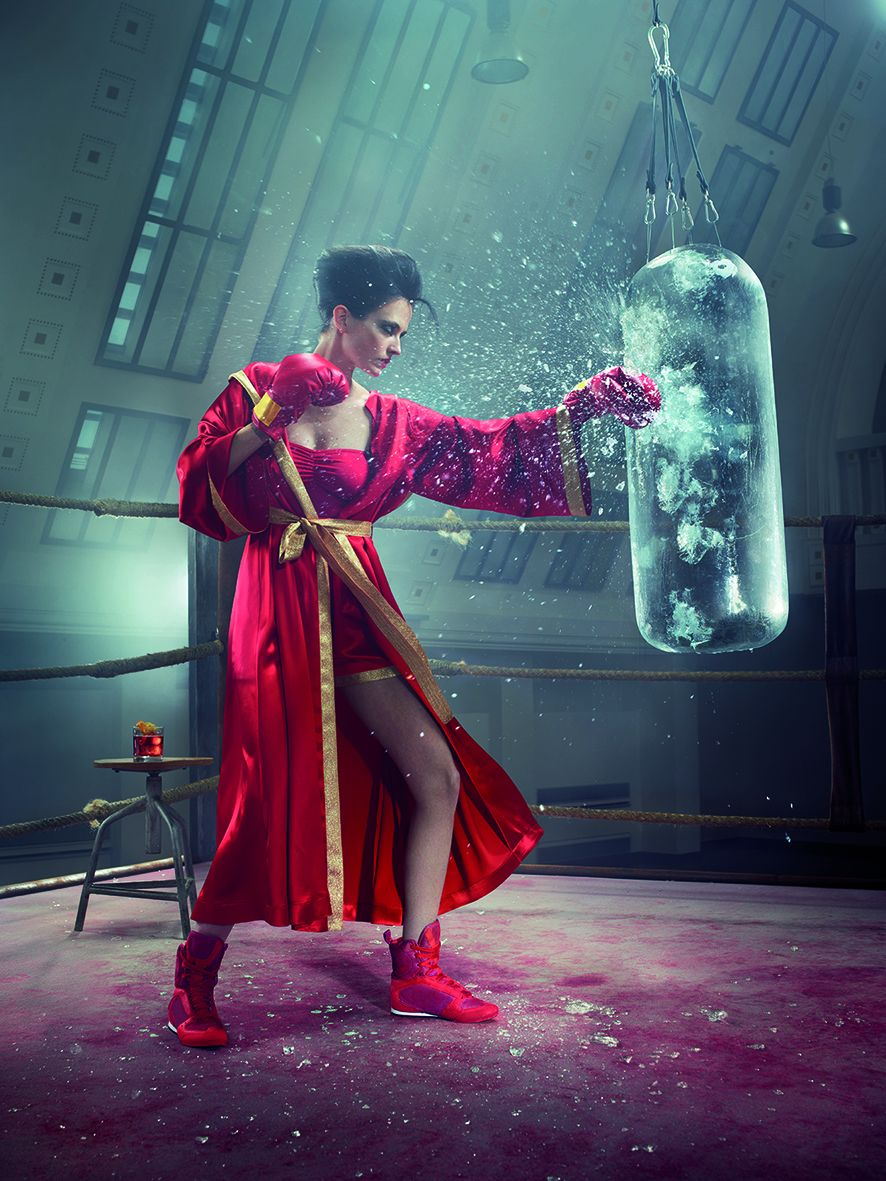 05 Campari Calendar 2015_Mythology Mixology_Eva Green_May_Americano_LR