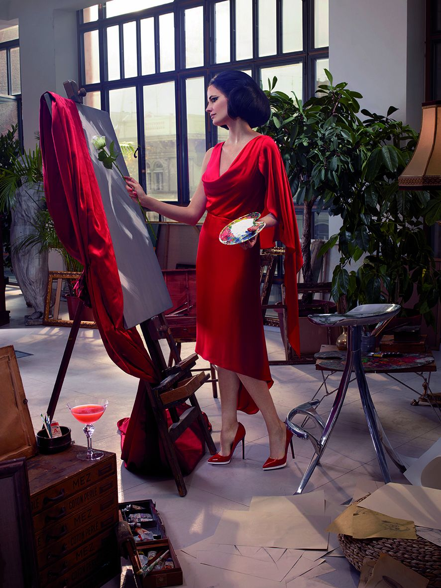 11 Campari Calendar 2015_Mythology Mixology_Eva Green_November_Rosa Bianca_LR