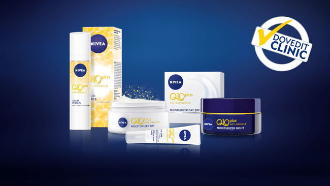 All range NIVEA Q10