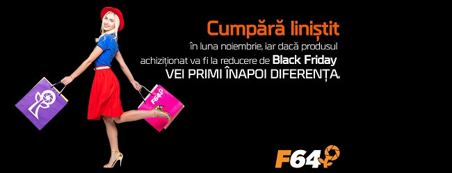 """F64 pregătește un """"Black Friday pe modul Wishlist"""""""