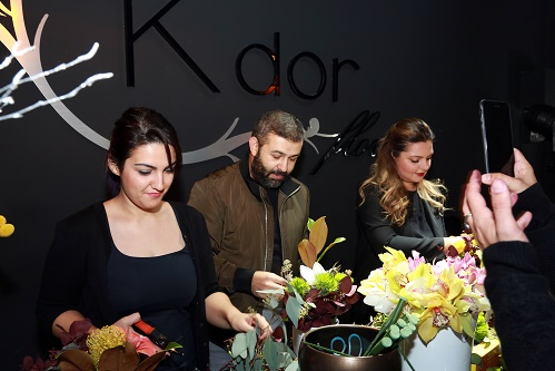 Workshop Christmas Party la K'dor Flowers!
