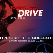 """Tommy Hilfiger duce show-ul TOMMYNOW """"DRIVE"""" la Milano! – Live Video"""
