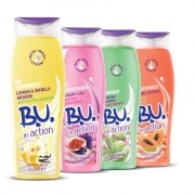 B.U. in action Shower Cream, Lemon & Vanilla Mousse – and feel the pleasure!