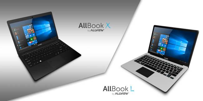 Allview lansează notebook-urile Allbook X și Allbook L